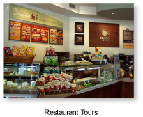 Restaurant and food tours