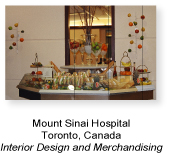 Hospital Interior design and merchandising